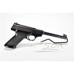 Restricted handgun Browning model Nomad, .22 LR 10 shot semi automatic, w/ bbl length 172mm [Blued f