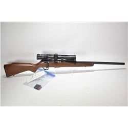 "Non-Restricted rifle Savage model 93R17, .17HMR mag fed bolt action, w/ bbl length 20 3/4"" [Blued ba"