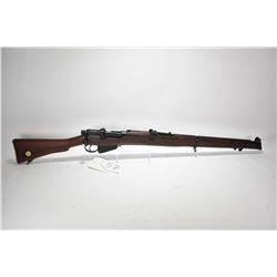Non-Restricted rifle Lee Enfield model Mk III * SHT.LE, .303 Brit mag fed 10 bolt action, w/ bbl len