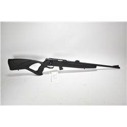 "Non-Restricted rifle Scorpio model EM 322A, .22 LR only mag fed. 10 bolt action, w/ bbl length 20"" ["