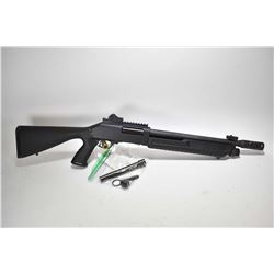 "Non-Restricted shotgun Wischo model Imperator, 12ga. tube fed pump action, w/ bbl length 13 1/2"" [Pa"