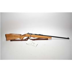 Non-Restricted rifle CIL by Anschutz model 125, .22cal S.L.LR. mag fed 5 shot bolt action, w/ bbl le