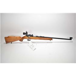 Non-Restricted rifle CIL by Anschutz model 310, .22 S.L.LR cal mag fed 5 shot bolt action, w/ bbl le