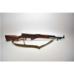 Non-Restricted rifle Russian model SKS, 7.62x39 mm cal mag fed 5 shot semi automatic, w/ bbl length