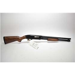 "Non-Restricted shotgun Winchester model Defender, 12ga 2 3/4"" & 3"" tube fed 5 pump action, w/ bbl le"