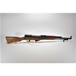 Non-Restricted rifle Russian Tulsa arsenal model SKS, 7.62 X 39 cal. Mag fed 5 shot semi automatic,