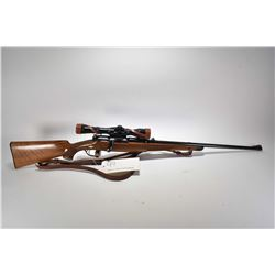 Non-Restricted rifle MAnnlicher Schoenauer model 1952, 30-06 cal mag fed 3 shot bolt action, w/ bbl