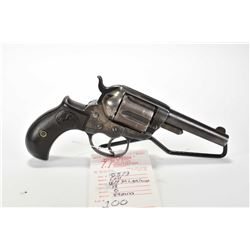 Prohib 12-6 handgun Colt model 1877 DA Lightening, .38 Long Colt 6 shot revolver, w/ bbl length 89mm