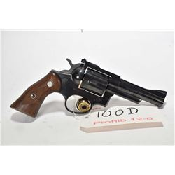 Prohib 12-6 handgun Ruger model Security-Six, .357 Mag cal 6 shot double action revolver, w/ bbl len