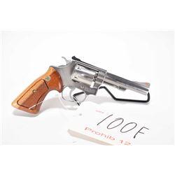 Prohib 12-6 handgun Smith & Wesson model 63, .22 LR 6 shot double action revolver, w/ bbl length 102