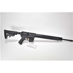 Restricted rifle Bushmaster model XM15E25, .223/5.56 cal 5 shot semi automatic, w/ bbl length 508mm