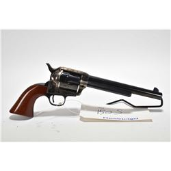 Restricted handgun Uberti model 1873, .45 Long Colt 6 shot single action revolver, w/ bbl length 191
