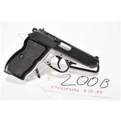 Prohib 12-5 handgun CUGIR Carpati model 74, 7.65mm 8 shot semi automatic, w/ bbl length 91mm [Blued