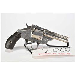 Prohib 12-6 handgun Iver-Johnson model Safety Hammer Auto mod 2, .38 S&W 5 shot hinge break double a