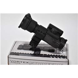 Vortex Strikefire Red dot system optic, appears gently used, untested at time of cataloguing