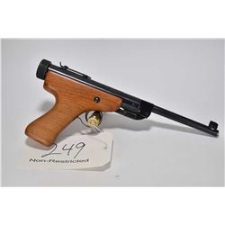 "Non-Restricted Air pistol Slavia model ZVP, .177 cal single w/ bbl length 7 1/2"" [Blued barrel and r"