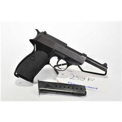 Restricted handgun Walther model P1, 9mm mag fed. 8 shot semi automatic, w/ bbl length 127mm [Blued