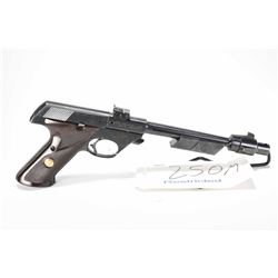 Restricted handgun High Standard model Supermatic Citation, .22 R 10 shot semi automatic, w/ bbl len