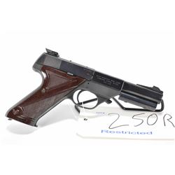 Restricted handgun High Standard model Supermatic S-101, .22 LR 10 shot semi automatic, w/ bbl lengt