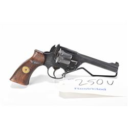 Restricted handgun Enfield model No.2 MK 1, .38 S&W 6 shot hinge break double action, w/ bbl length