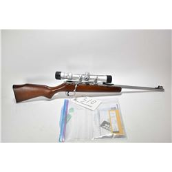 "Non-Restricted rifle Marlin model 915YS, .22 S, L & LR single shot bolt action, w/ bbl length 16"" [S"