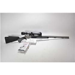 "Non-Restricted rifle Traditions model Vortek, .50 cal single shot hinge break, w/ bbl length 28"" [Sa"
