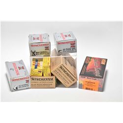 Selection of ammunition including full 50 count box of HMS 305 grain .44 Magnum, full 50 count box o
