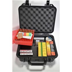 Pelican case No. 1400 containing full 20 round box of Federal .308 Win ammunition and full 20 round