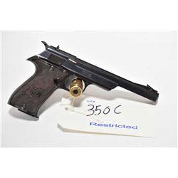Restricted handgun Star model FR Sport, .22 LR mag fed. 10 shot semi automatic, w/ bbl length 150mm