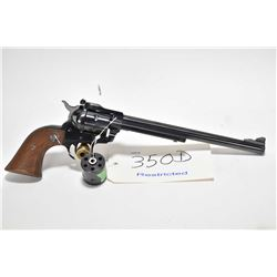 Restricted handgun Ruger model New Model Single-Six, .22 LR , .22 Win Mag 6 shot single action, w/ b