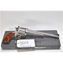 Restricted handgun Ruger model New Model Super Blackhawk, .44 Mag cal. 6 shot single action, w/ bbl