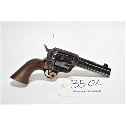 Restricted handgun Pietta model 1873 SA Army Repro., .44/40 cal. 6 shot single action, w/ bbl length