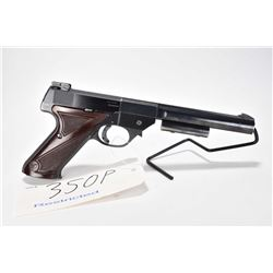 Restricted handgun High Standard model Olympic, .22 short cal 10 shot semi automatic, w/ bbl length