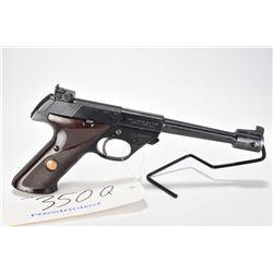 Restricted handgun High Standard model Supermatic Citation 103, .22 LR 10 shot semi automatic, w/ bb