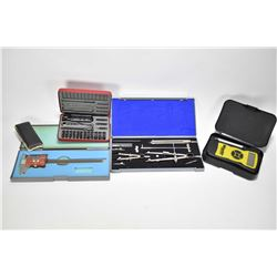 Selection of tool including Wheeler digital trigger gauge, Mitutoyo digital micrometre, a Chapman No