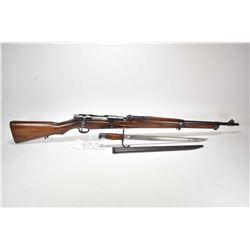Non-Restricted rifle Kokura Arsenal model Ariska Type 38, 6.5 Japanses mag fed 5 shot bolt action, w