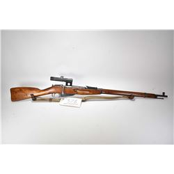 Non-Restricted rifle Mosin-Nagant model M1891/30, 7.62x54mm mag fed 5 shot bolt action, w/ bbl lengt