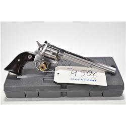 Restricted handgun Ruger model New Model Single-Six, .22 LR/ .22 Win Mag. 6 shot single action revol
