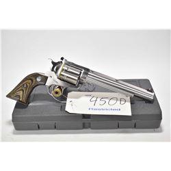 Restricted handgun Ruger model New Model Super Blackhawk, .44 Rem mag. 6 shot single action revolver