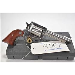 Restricted handgun Ruger model New Model Super Blackhawk, .45 Rem mag. 6 shot single action revolver