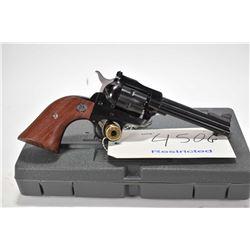 Restricted handgun Ruger model New Model Single-Six, .22 LR/.22 Win mag. 6 shot single action revolv