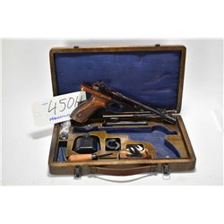 Restricted handgun Vostok model Margolin, .22 short cal mag fed 10 shot semi automatic, w/ bbl lengt