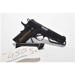 Restricted handgun Browning model Black Label 1911, .22 LR 10 shot semi automatic, w/ bbl length 108