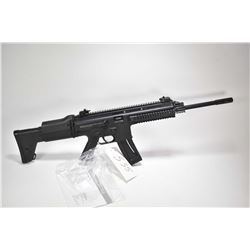 "Non-Restricted rifle ISSC model MK-22, .22 LR mag fed 22 shot semi automatic, w/ bbl length 16"" [Bla"