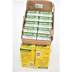Ten full boxes of 20 count Remington 6.8mm Remington Special ammo. 115 grain plus two full 20 count