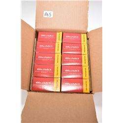 Ten full boxes of 10 count Lellier & Vellot .338 Lapua mag. matched grade 250 grain bullets.
