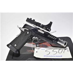 Restricted handgun StI model 2011 Steel Master, 9mm 10 semi automatic, w/ bbl length 109mm [Custom c