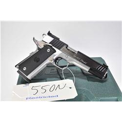 Restricted handgun Para-Ordinance model 16 40 Limited, .40 S&W 10 shot semi automatic, w/ bbl length