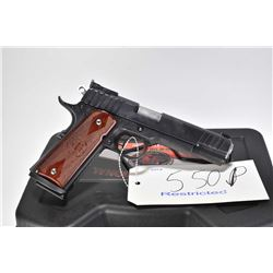 Restricted handgun StI International model 1911 Trojan, 9mm 10 shot semi automatic, w/ bbl length 12