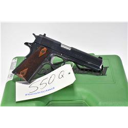 Restricted handgun Remington model 1911 R 1, .45 ACP 7 shot semi automatic, w/ bbl length 127mm [Blu